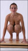 Nicol poses