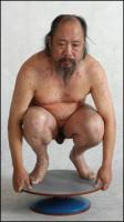 Wu Thang poses