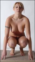 Natalia poses