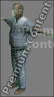 3D Model White Man # 4