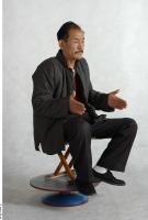 Chun Liu poses