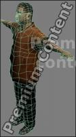 3D Model Asian Man # 1