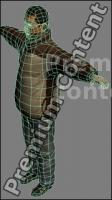 3D Model Asian Man # 2