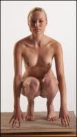 Ingrid poses