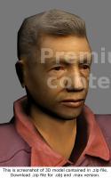 3D Model Asian Man #