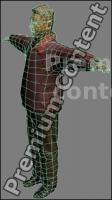 3D Model Asian Man # 7