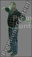 3D Model White Man # 13