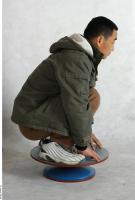 Wooang poses