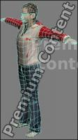 3D Model White Woman # 9
