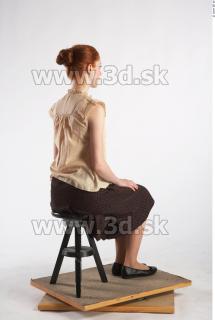 Leona poses