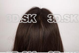 Hair texture of Brigita 0005