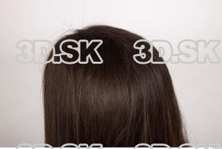 Hair texture of Brigita 0006