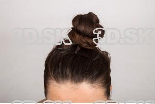 Hair texture of Brigita 0001