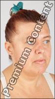 Female head photo references - Romana