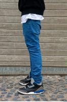 Black man leg jeans reference 0001
