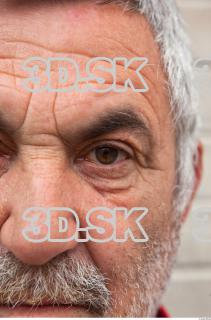 Old man head wrinkles reference 0002