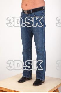 Leg deep blue jeans of Ed 0002