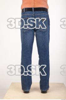 Leg deep blue jeans of Ed 0005