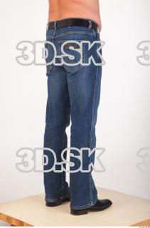 Leg deep blue jeans of Ed 0006
