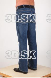 Leg deep blue jeans of Ed 0004