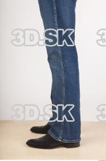 Calf deep blue jeans of Ed 0003