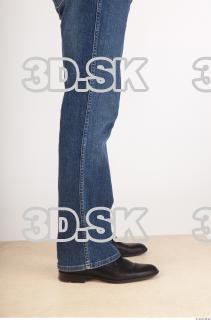 Calf deep blue jeans of Ed 0008
