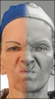Raw 3D head scan of emotions and phonemes - Alena