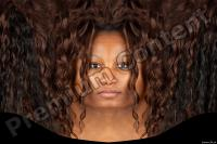 Black woman premade head texture 0001