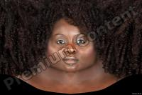 Black woman premade head texture 0002