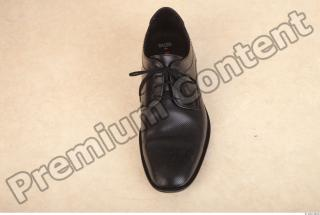 Black leather formal shoe photo reference 0002