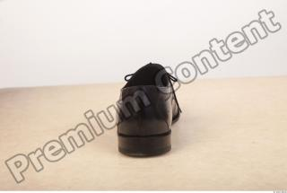 Black leather formal shoe photo reference 0005