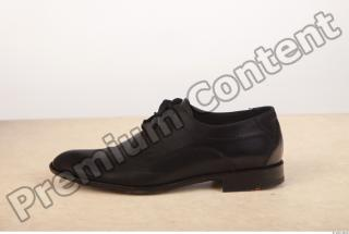 Black leather formal shoe photo reference 0004