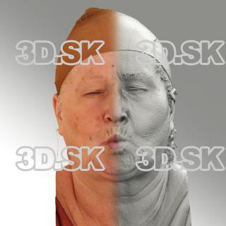 3D head scan of O phoneme - Lada