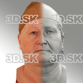 3D head scan of neutral emotion - Lada