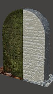 3D scan of monument