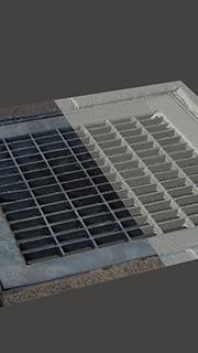RAW 3D scan of manhole cover
