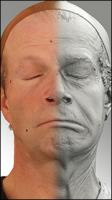 3D head scan of emotions and phonemes - Richard