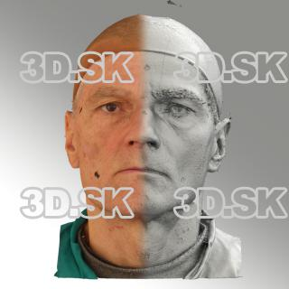 3D head scan of neutral emotion - Zdenek