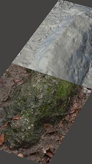 RAW 3D Scan of Rock