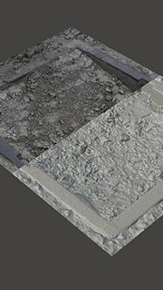 RAW 3D scan of manhole cover6
