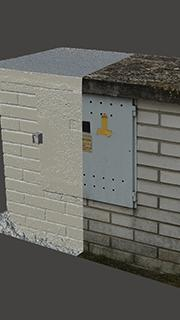 RAW 3D Scan of Electric Box #2
