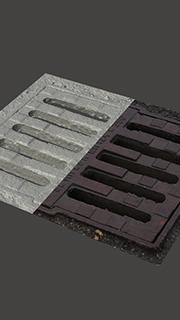 RAW 3D Scan of Manhole Cover #11