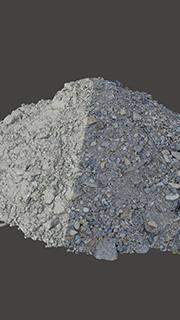 RAW 3D Scan of Pile of Stones