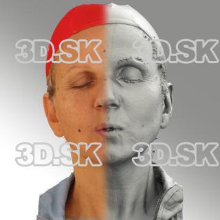 3D head scan of U phoneme - Renata