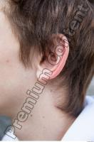 Young man teenager ear reference 0001