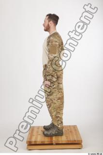 Soldier in American Army Military Uniform 0005