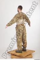 Soldier in American Army Military Uniform 0006