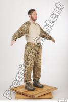Soldier in American Army Military Uniform 0011