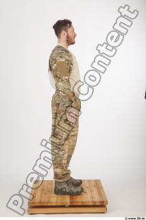 Soldier in American Army Military Uniform 0010
