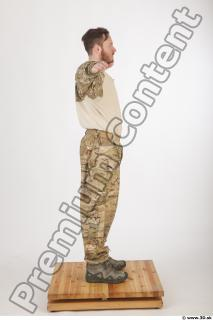 Soldier in American Army Military Uniform 0009